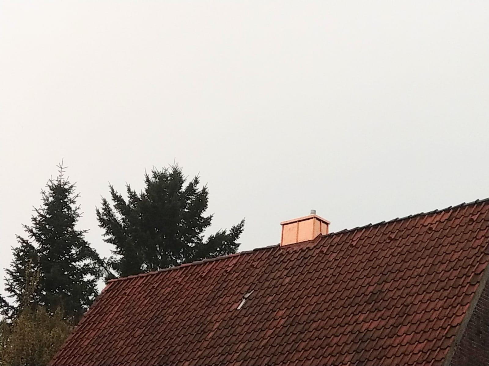 Schornstein kupfer